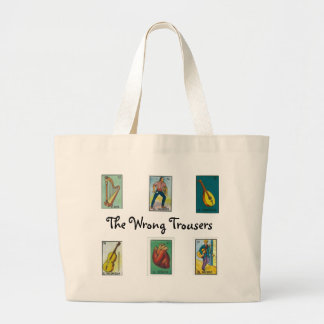 The Wrong Trousers One and Counting Tote