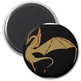 The Wyrm (gold) Magnet