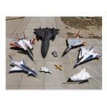 The X-31, F-15S/MTD, SR-71, F-106, F-16XL Postcard