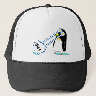 The X Penguin Trucker Hat