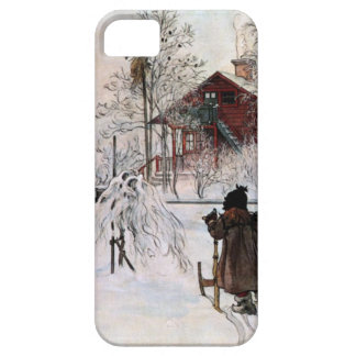 The Yard and Wash-House, Carl Larsson Case For The iPhone 5