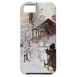 The Yard and Wash-House, Carl Larsson iPhone 5 Cases