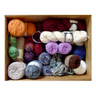 The Yarn Collector's Box Postcard