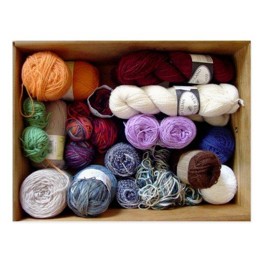 The Yarn Collector's Box Postcard