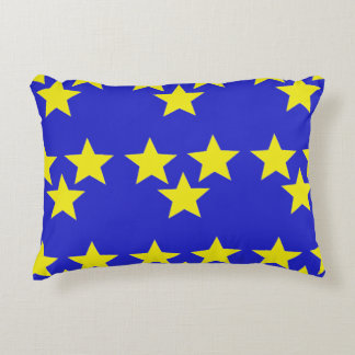 The Yellow Bright Star Decorative Pillow