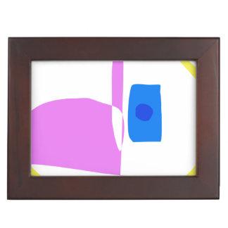 The Yellow Circle Keepsake Box