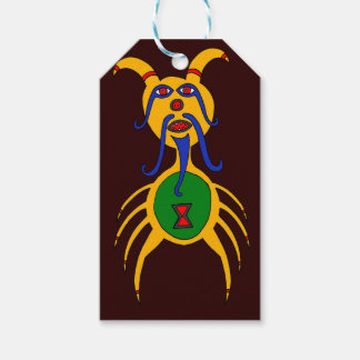 The Yellow Dog Spider Gift Tags