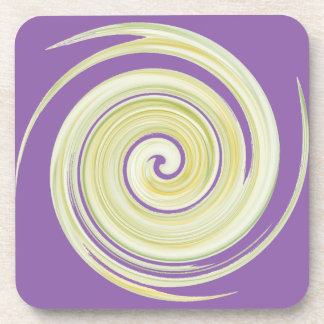 The Yellow Flush: Ode to The Porcelain Throne Coaster