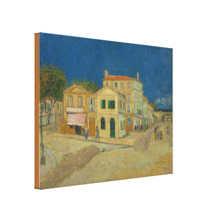 The Yellow House by Vincent van Gogh Canvas Print