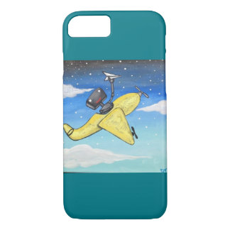 The yellow plain iPhone 7 case