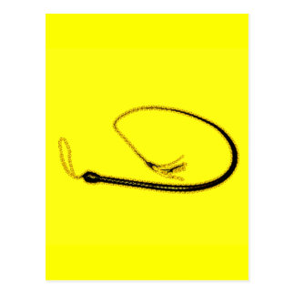 THE YELLOW WHIP POSTCARD