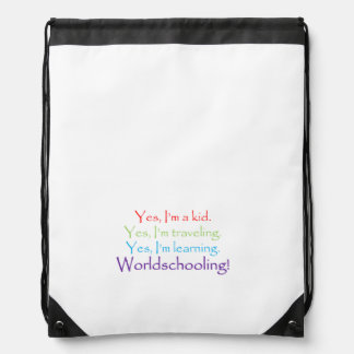 The Yes Drawstring Bag