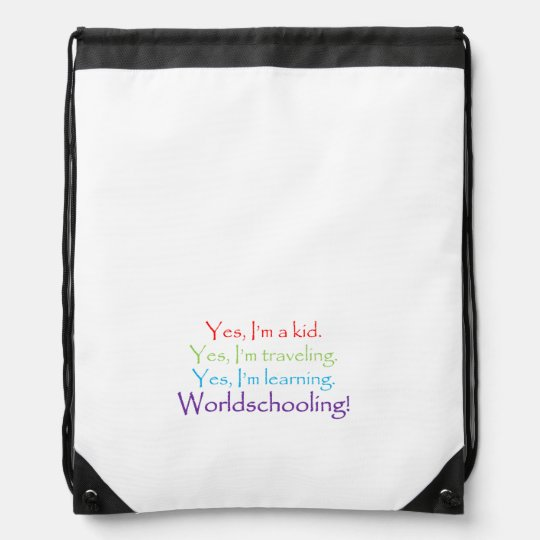 The Yes Drawstring Bag