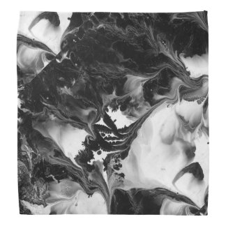THE YIN AND THE YANG (an abstract art design) ~ Bandana