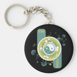 The Yin and the Yang Keychain