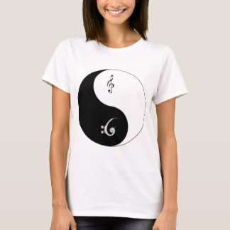The Yin-Yang Clefs T-Shirt