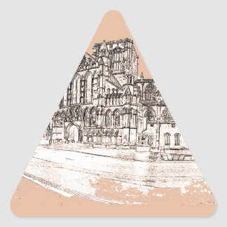 The York Minster Triangle Sticker
