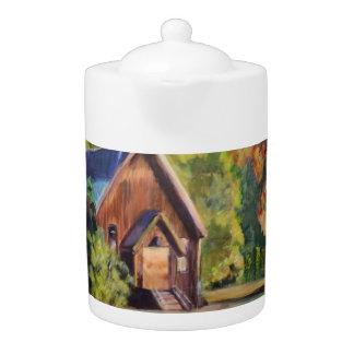The Yosemite Chapel Teapot