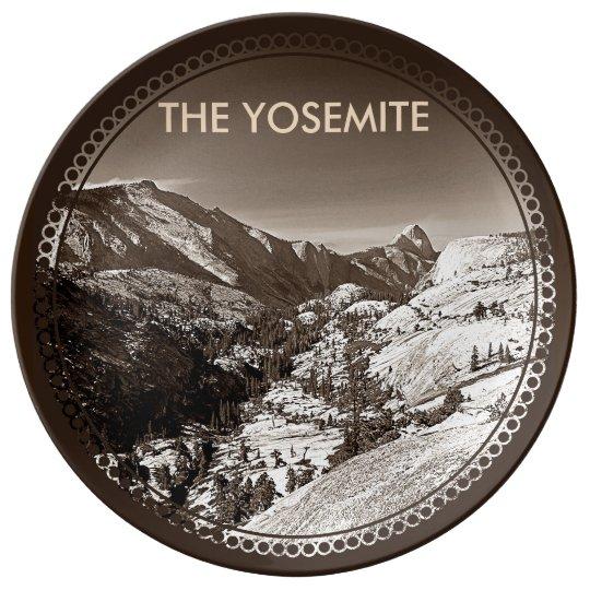 The Yosemite Porcelain Plate