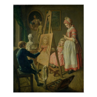 The Young Artist, c.1760 Poster