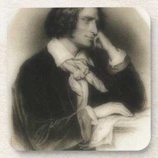 the young Franz Liszt -portrait Coaster