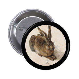 The Young Hare 2 Inch Round Button