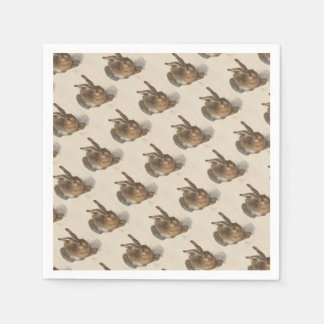 The Young Hare Disposable Napkin