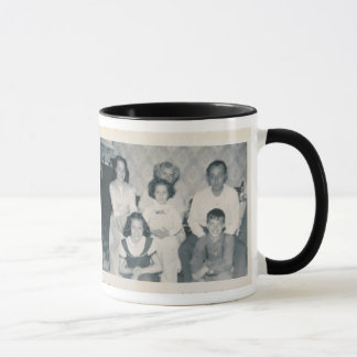The Young Palombi Family circa 1953 Mug