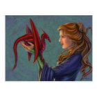 The Young Red Dragon Postcard