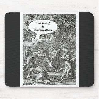 The Young & The Wrestlers Mouse Pad