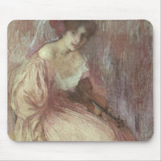 The Young Violinist Mouse Pad