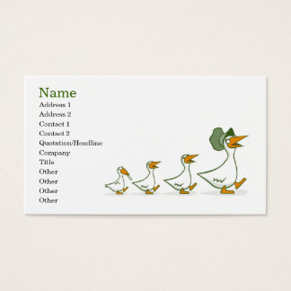 The Youngest Ones Are Always The Troublemakers Business Card