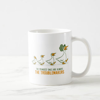 The Youngest Ones Are Always The Troublemakers Coffee Mug