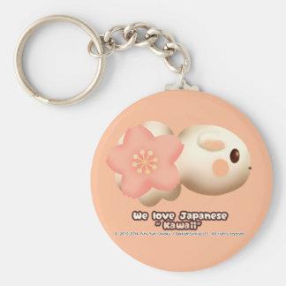 The your Sakura 2 u Basic Round Button Keychain