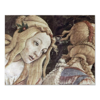 The Youth Of Moses, Detail By Botticelli Sandro Card