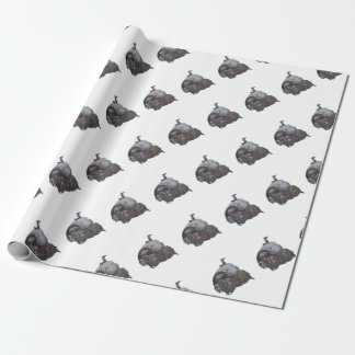 The Yule Goat Wrapping Paper