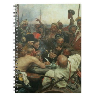 The Zaporozhye Cossacks writing a letter Note Books