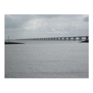 The Zeeland bridge Postcard