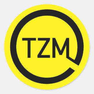 The Zeitgeist Movement Logo Classic Round Sticker