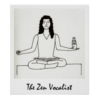 The Zen Vocalist print