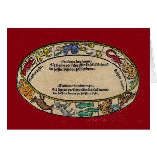 The Zodiac, 1496 Card