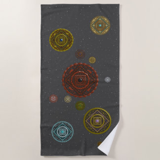 The Zodiac Beach Towel