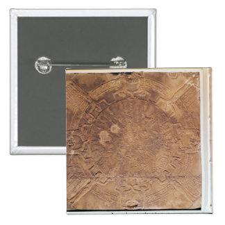 The Zodiac of Dendarah 2 Inch Square Button