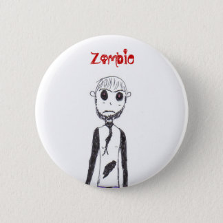 The Zombie 2 Inch Round Button