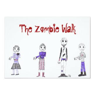 The Zombie invite... Card