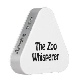 the zoo whisperer blueooth speaker
