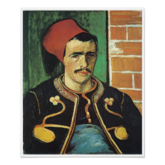 The Zouave, Vincent Van Gogh Poster