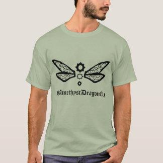 theAmethystDragonfly dragonfly Basic logo tee