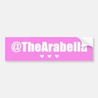 @TheArabella Bumper Sticker