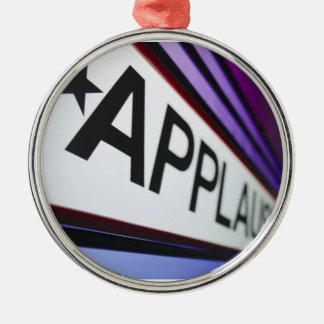 Theater Applause Sign Christmas Tree Ornament